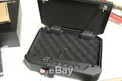 0127 Vaultek VT20i Biometric Handgun Safe Bluetooth Smart Pistol Safe Auto-Open