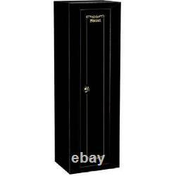 10 Gun Security Cabinet Stack on Rifle Safe Storage Locker Shotgun Firearm Lock
