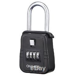 12Pcs 4 Dial Metal Lock Box Key Safe Vault Door Hanger for Realtor Real Estate