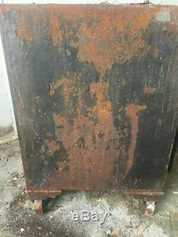 1890's Antique The Empire Safe Iron Safe with Combination Lock