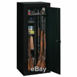 18 Gun Cabinet Safe Convertible Steel Security Guns Storage Vault Rifles Firearm