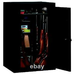 18-Gun Riffle Storage Fully Convertible Steel Security Cabinet Safe Lockable NEW