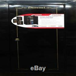 18-Gun Storage Security Cabinet Firearms Locker Safe Fully Convertible Steel New