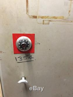 1966 Chubb Single Door Safe Large Vintage Security Container Combination Lock