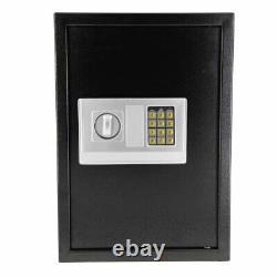 1.85 cu. Ft. Digital Electronic Safe Box Keypad Lock Security Home Office Hotel