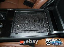 2020 Lincoln Aviator Center Console Vehicle Safe 4-digit Combination Lock Safe