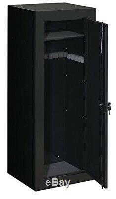 22 Gun Storage Cabinet Organizer Safe Box Rifle Big Rack Long Firearm Lock Ammo