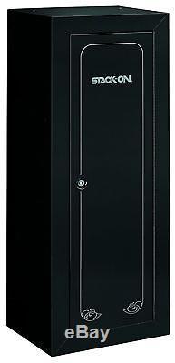 25 Gun 54 Long Safe Home Security Cabinet Lock Rifle Shotgun Steel Storage Box