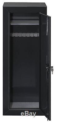 25 Gun Safe 54 Long Steel Lock Box Rifle Shotgun Storage Home Security Cabinet