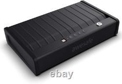 2-Gun Safe Box Metal Case Fingerprint Biometric Double Pistol Handgun Storage