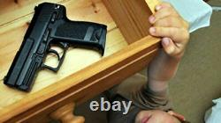 2 Pistol Gun Safe Box Firearm Secure Storage Quick Access Combination Pin Lock