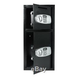 30.5Large Digital Electronic Safe Box Keypad Lock Security Home Office Durable
