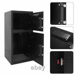 3.2cu. Ft. Double Door Digital Safe Depository Drop Box Cash Office Security Lock