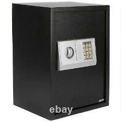 41L Large Digital Electronic Safe Box Keypad Lock Security Home Office Hotel Gun