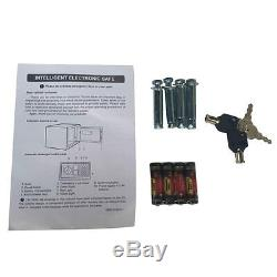 5 Rifle Eletronic Lock Steel Lockbox Firearm Cabinet Safe Gun Lockbox Storage