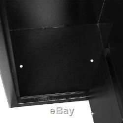 5 Rifle Gun Storage Safe Electronic Lock Cabinet Lockbox Case Firearm Steel