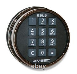 AMSEC Gun/Rifle Safe 30 Min Fire Electronic Lock Black TF5924E5