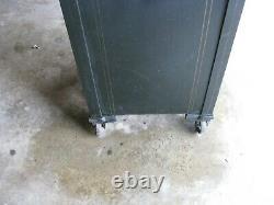 ANTIQUE FLOOR SAFE by SCHWAB / Working Combination & Key for Lock Box