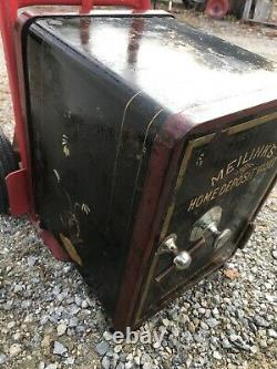 ANTIQUE Safe MEILINK With Fancy Scroll Work With No COMBINATION Locked Rare