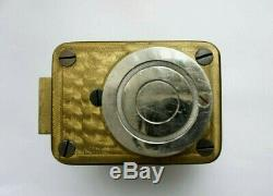ANTIQUE rare YALE Herring-Hall-Marvin Safe Combination Lock withDial and Ring