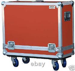 ATA Safe Case for Orange Rocker 32 Combo Amp in Orange 4 locking casters