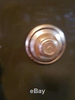 AllSteel Steel Fireproof 2Door safe Yale lock mechanism have working combination