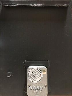 American Security Lock Combination Steel Wall safe 26lbs 13x4x10 5.5mm Thick