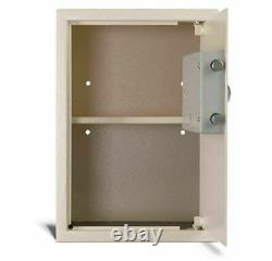 AmsecHome Security Safe, Electronic Lock, compact, 14gauge Solid steel EST2014