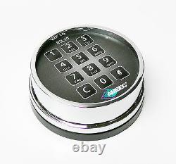 Amsec ESL10XL Electronic Safe Retrofit Lock Kit Chrome