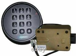 Amsec digital safe lock kit for gun / jewelry safe 0615779 ESL10XL Black dial
