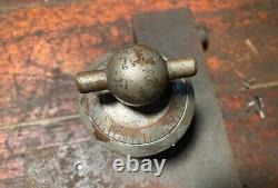 Antique Early Victor Safe & Lock Co. Complete Combination Dial Mechanism 1800s