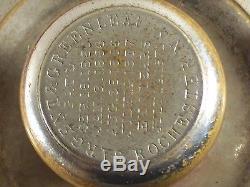 Antique Safe Combination Dial, Ring Lock Unit Sargent & Greenleaf