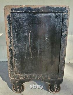 Antique Safe Victor Safe & Lock Co. With Combination And Interior Drawers 1889