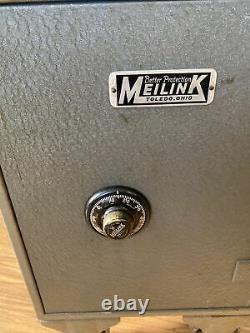 Antique Vintage Toledo MEILINK Metal Safe Combination Yale Lock 39100 HEAVY