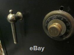 Antique Vtg MOSLER SAFE with Combination Lock 48 x 33 x 25 P/U Zip Code 02072