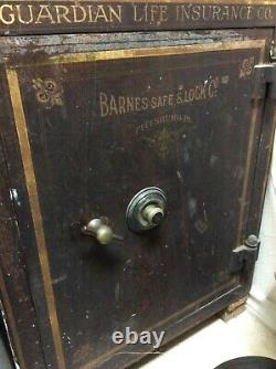 Antique safe combination lock GUARDIAN LIFE INS CO