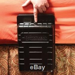 ArmsReach Bedside Fingerprint Gun Safe Discrete Firearm Storage & Quick Access