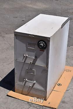 Art Metal-2 Drawer-File-Filing-Cabinet-Locking-Safe Sargent Greenleaf + Combo