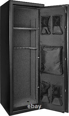 BARSKA New Fireproof Fire Vault Rifle Gun Keypad Lock Safe Cabinet 8.5