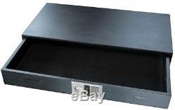 BUFFALO Under Bed Gun Safe 3 cu. Ft. Digital Keypad Pry-Resistant Steel