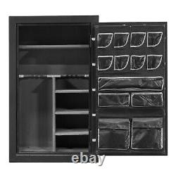 B RATED Fireproof Gun Safe Storage for Rifle Ammo with Electronic Lock 59x36x25