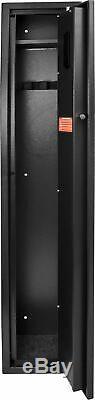 Barska HQ800 Standard Quick Access Keypad Biometric Safe, Black, AX12760