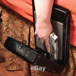 Bedside Biometric Fingerprint Sensor Gun Safe Arms Reach Store Loaded Handgun