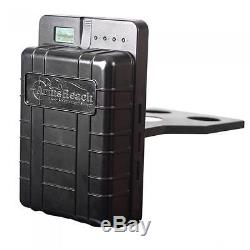 Bedside Handgun / Firearm Safe Biometric Fingerprint Sensor FREE BONUS ALARM