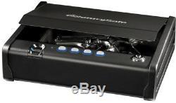 Biometric Gun Pistol Safe Small Home Handgun Fingerprint Security Lock Sentry