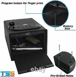 Biometric Gun Safe High Capacity Fingerprint Multi Gun Vault Lock Box Cabinet