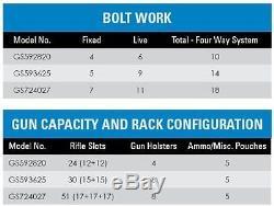 BlueDotSafes Fire-Resistant Gun Rifle Firearm Vault Security Lock Safe, LG Combo