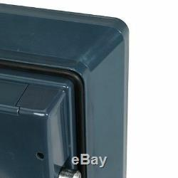 Bolt-Down Combination Waterproof And Fire Resistant Safe First Alert. 94 Cu. Ft