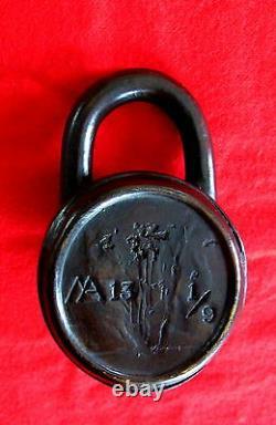 Bronze Combination Lock Keep It Safe, Lock It Up Ancient Technology Sculpture