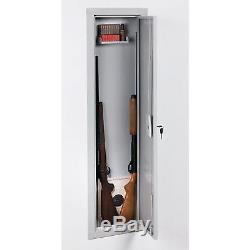 Cabinet Storage Wall Gun Safe Rifle Key Hidden Steel Vault Shotgun Stack-On Full
